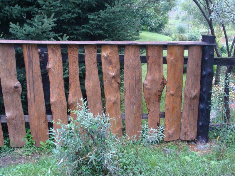 Забор своими руками из горбыля