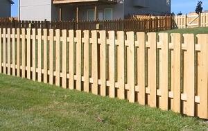 Готовый для покраски забор из дерева