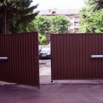 Ворота для участка