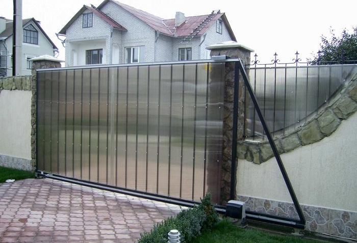 Ворота откатного типа