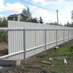 Недорогие ограды