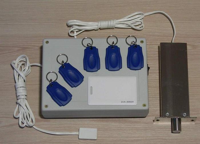 Электронный замок с ключами-метками для открытия