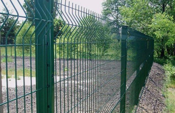 Секционный сетчатый забор