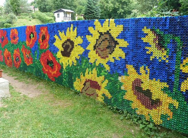 Плетение сетки из пэт ленты
