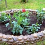 Ограждения в саду