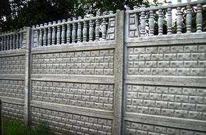 Бетонный забор из панелей