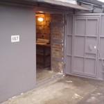Ворота в гараж на даче