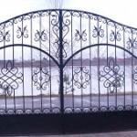 Ворота из ковки