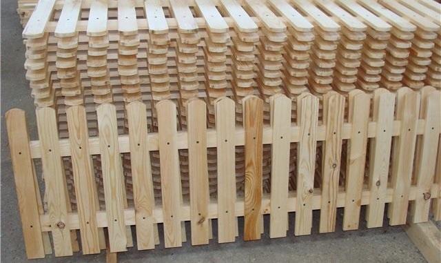 Оградка из дерева
