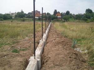 Основание под ограду