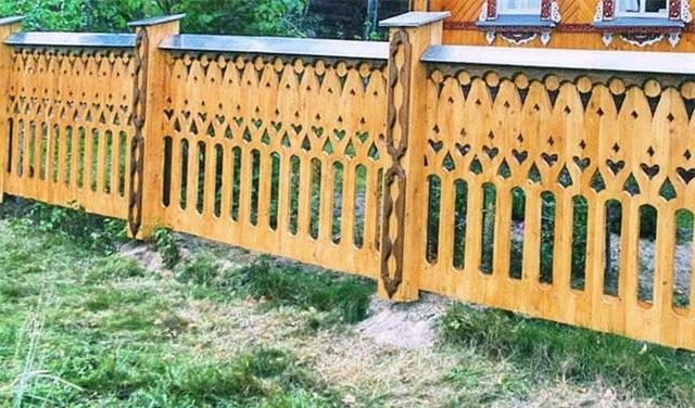 деревянные заборы. образцы - фото 3