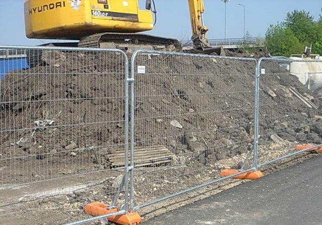 Заграждение строительных работ