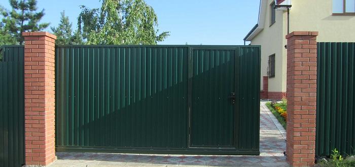 пример ворот данного вида