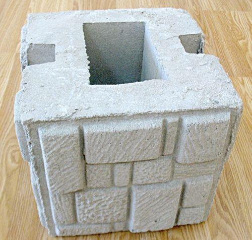 блок для наборного столба
