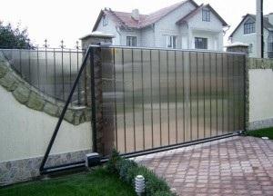 ворота с приводом