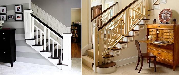 интерьер лестницы