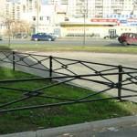 заборчик для газона